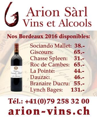 Arion Vins - Vins et Alcools