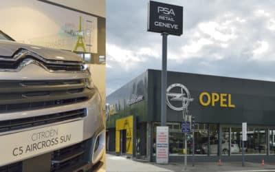 Le garage PSA Retail Genève fait peau neuve