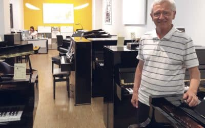 Pianos-Service P. Fuhrer SA:   Bienvenue dans la nouvelle arcade!