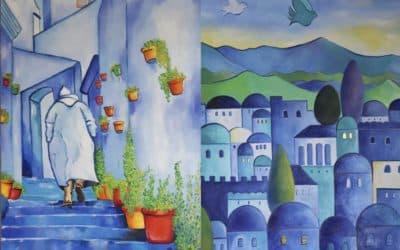 Keren Esther: des toiles en cartes postales