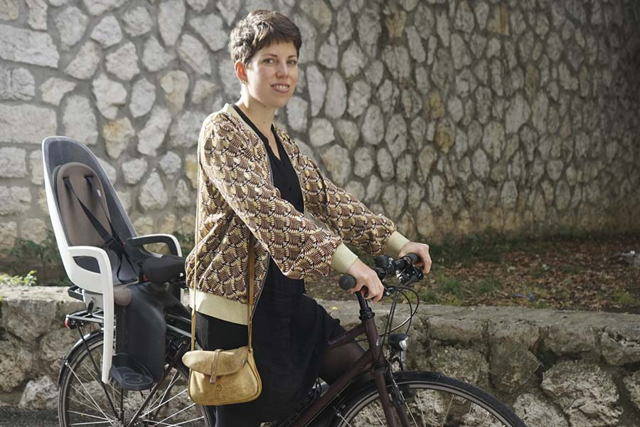 Lisa Mazzone: la vie à vélo